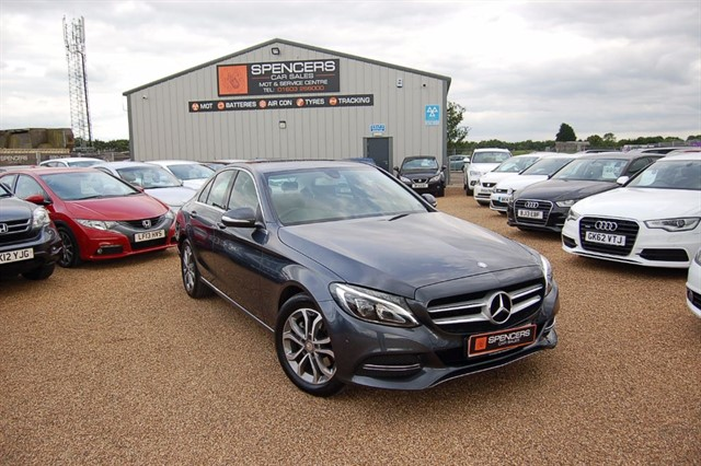 used Mercedes C200 SPORT in norwich