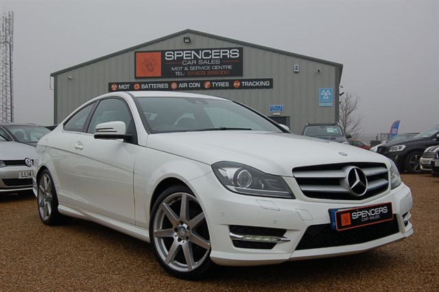 used Mercedes C220 CDI AMG SPORT EDITION PREMIUM in norwich