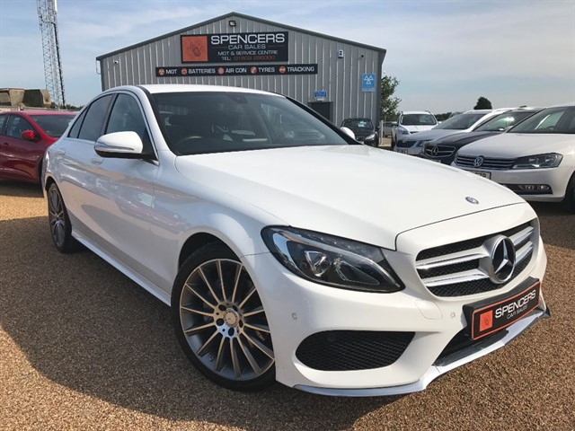 used Mercedes C220 BLUETEC AMG LINE in norwich