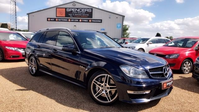 used Mercedes C63 AMG 451BHP in norwich