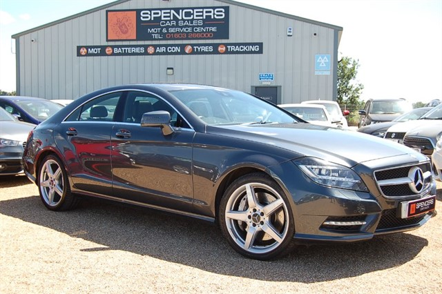 used Mercedes CLS500 SPORT AMG in norwich