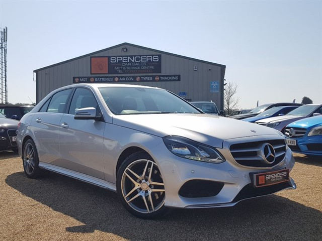 used Mercedes E220 CDI AMG SPORT in norwich