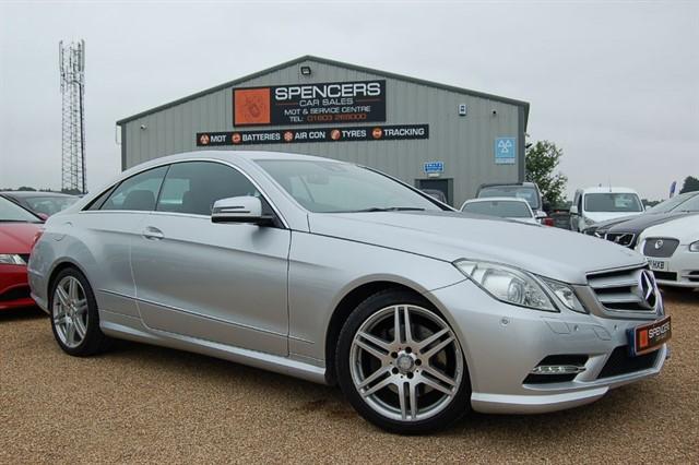 used Mercedes E250 CDI BLUEEFFICIENCY S/S SPORT in norwich