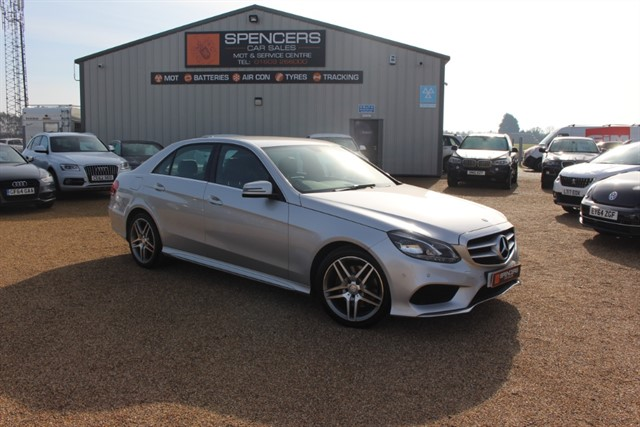 used Mercedes E250 CDI AMG LINE in norwich