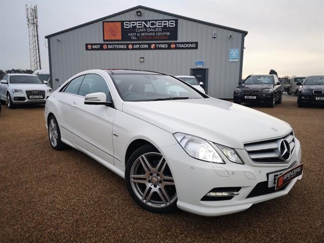 used Mercedes E350 CDI BLUEEFFICIENCY SPORT in norwich
