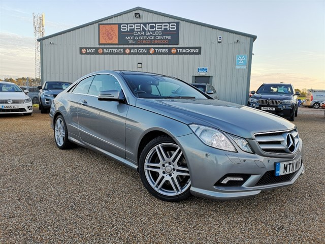 used Mercedes E350 CDI BLUEEFFICIENCY SPORT in norwich