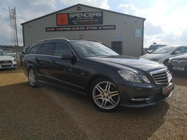 used Mercedes E350 CDI BLUEEFFICIENCY SPORT ED125 in norwich