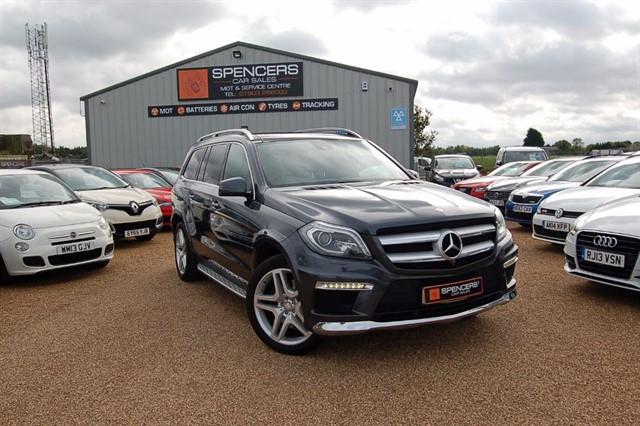 used Mercedes GL350 BLUETECH AMG SPORT in norwich