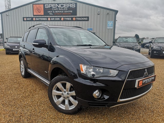 used Mitsubishi Outlander DI-D GX 3 in norwich