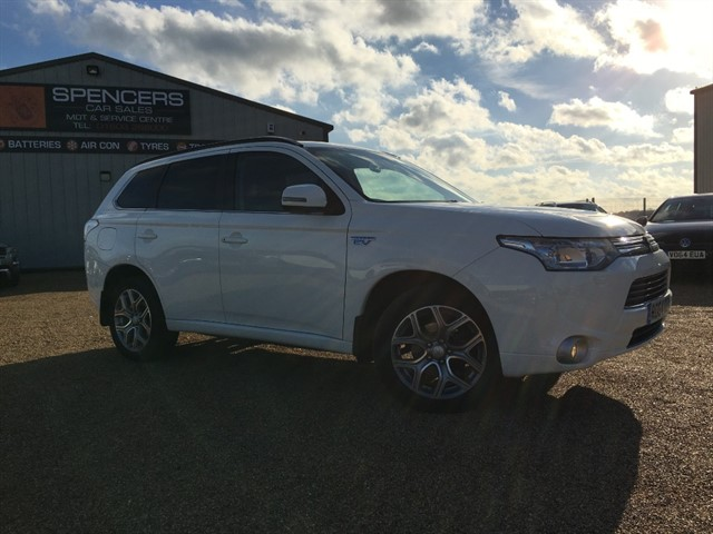 used Mitsubishi Outlander PHEV GX 4H in norwich