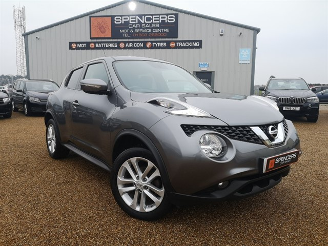 used Nissan Juke ACENTA PREMIUM DCI in norwich