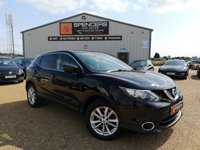 used Nissan Qashqai ACENTA PREMIUM DIG-T XTRONIC in norwich