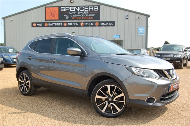 used Nissan Qashqai DCI TEKNA in norwich