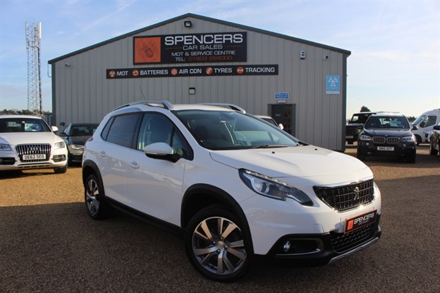 used Peugeot 2008 BLUE HDI S/S ALLURE in norwich
