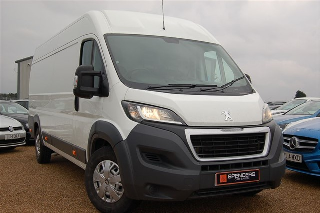 used Peugeot Boxer BLUE HDI 435 L4H2 PROFESSIONAL P/V in norwich