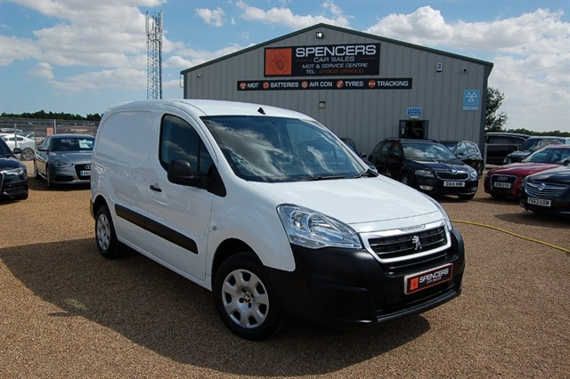 used Peugeot Partner BLUE HDI PROFESSIONAL L1 in norwich