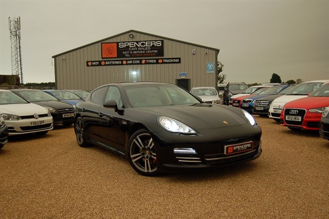 used Porsche Panamera PLATINUM EDITION D V6 TIPTRONIC in norwich
