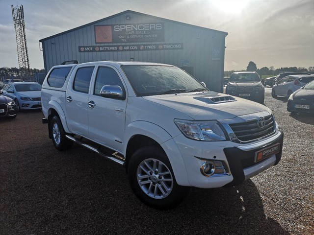 used Toyota Hilux INVINCIBLE 4X4 D-4D DCB in norwich