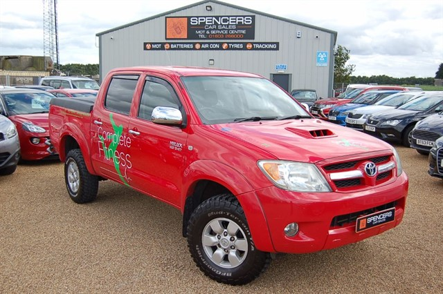 used Toyota Hilux HI-LUX 4X4 D-4D D/C in norwich