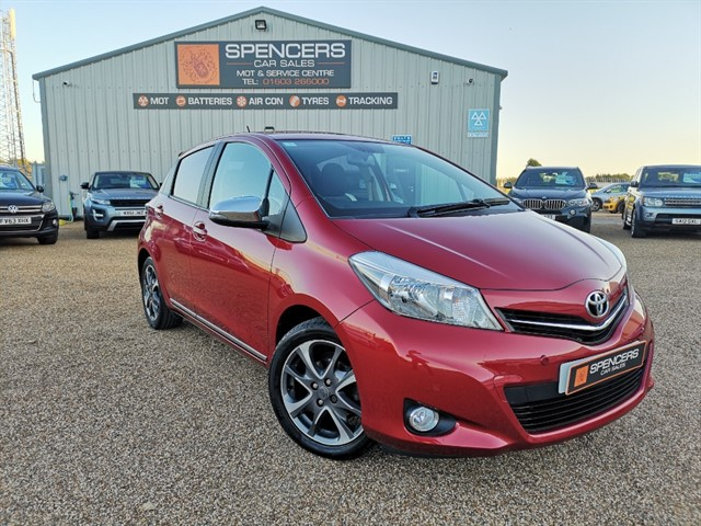 used Toyota Yaris VVT-I TREND in norwich