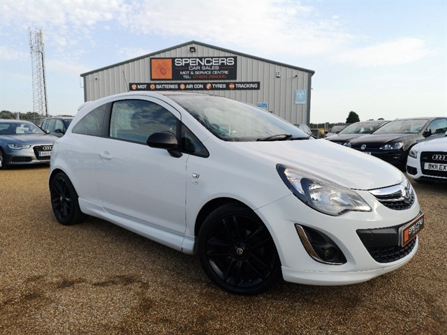 used Vauxhall Corsa LIMITED EDITION in norwich