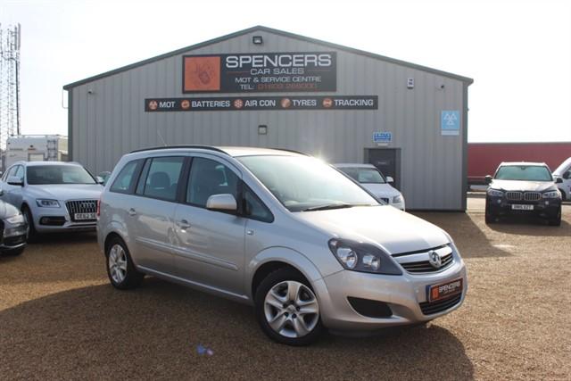 used Vauxhall Zafira EXCLUSIV CDTI ECOFLEX in norwich