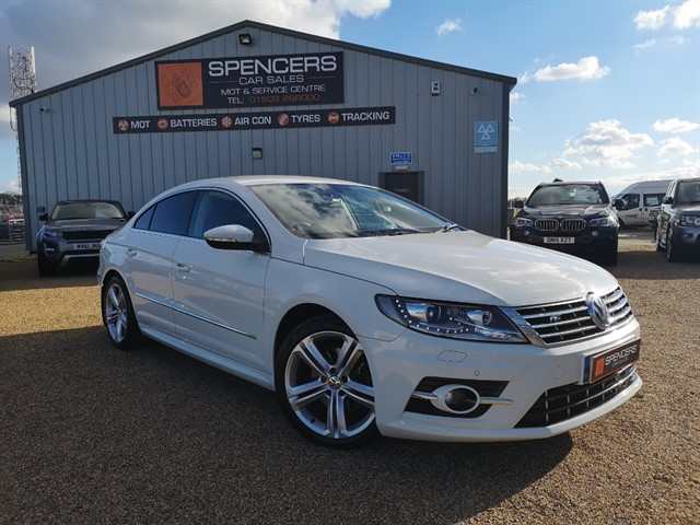 used VW CC R LINE TDI BLUEMOTION TECHNOLOGY in norwich