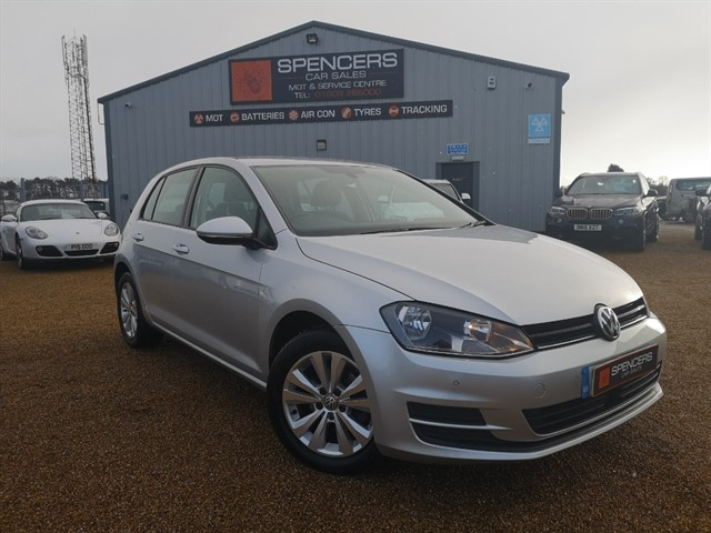 used VW Golf SE TDI BLUEMOTION TECHNOLOGY in norwich