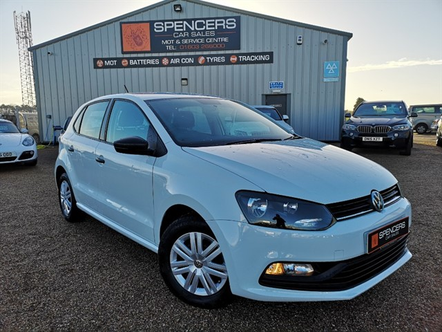used VW Polo S AC in norwich