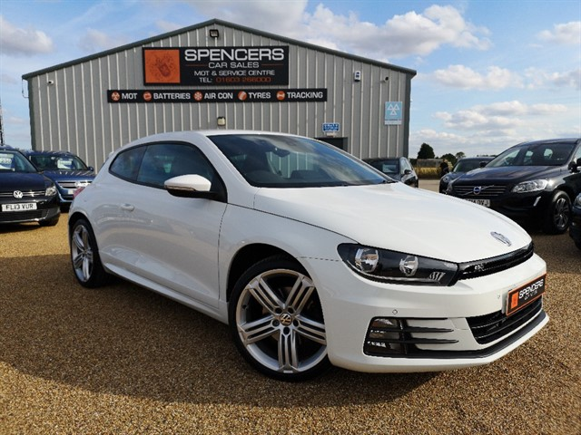 used VW Scirocco R LINE TSI BLUEMOTION TECHNOLOGY in norwich