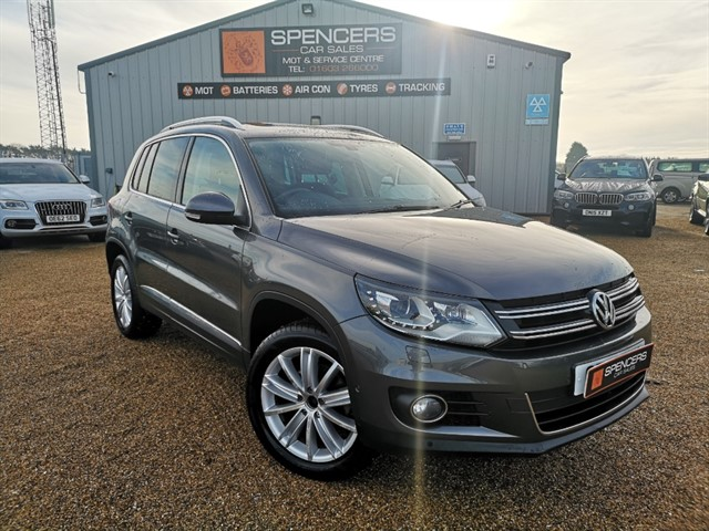 used VW Tiguan SE TDI 4MOTION in norwich
