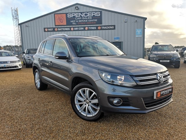 used VW Tiguan MATCH EDITION TDI BMT 4MOTION DSG in norwich