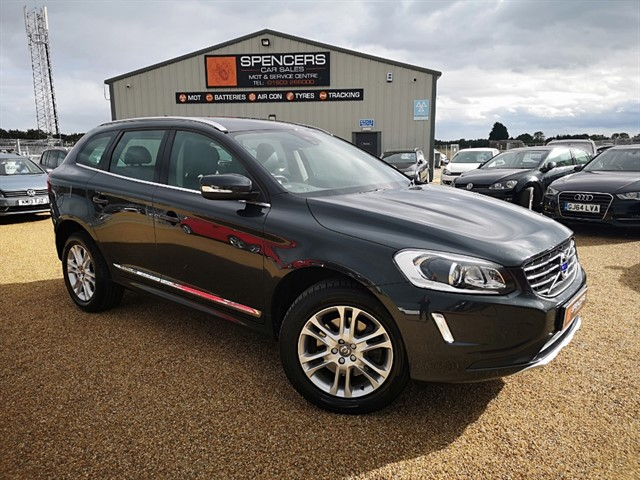 used Volvo XC60 D4 SE LUX in norwich