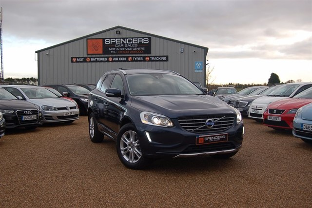 used Volvo XC60 D4 SE LUX NAV AWD in norwich