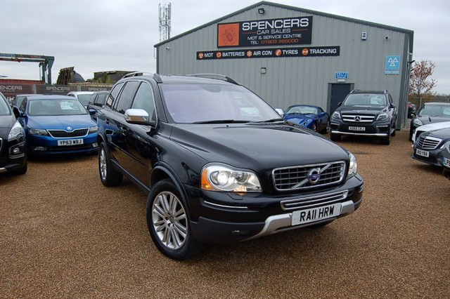 used Volvo XC90 D5 EXECUTIVE AWD in norwich