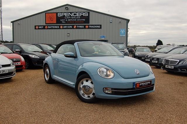 used VW Beetle DESIGN TSI BLUEMOTION TECHNOLOGY in norwich