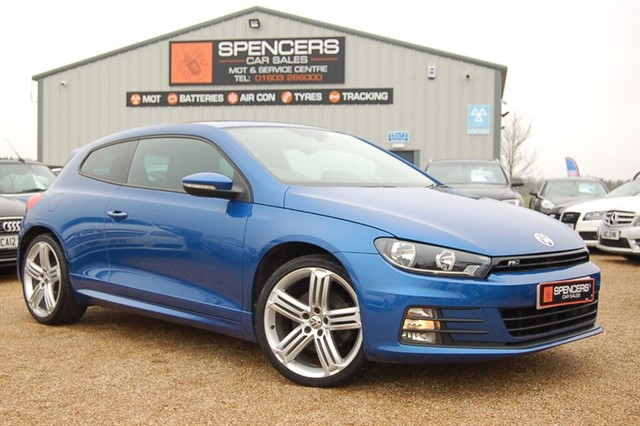 used VW Scirocco R LINE TDI BLUEMOTION TECHNOLOGY in norwich
