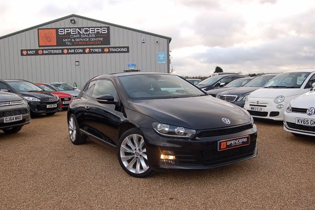 used VW Scirocco GT TSI BLUEMOTION TECHNOLOGY in norwich