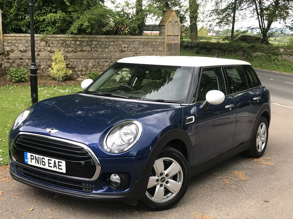 Used Deep Blue Metallic Mini Clubman For Sale Dorset