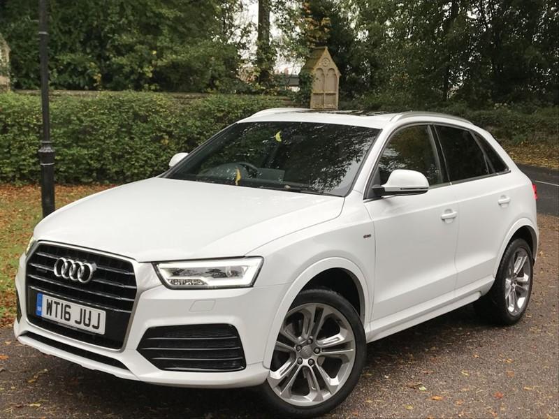 used Audi Q3 TDI QUATTRO S LINE PLUS Panoramic Roof in lyme-regis-dorset