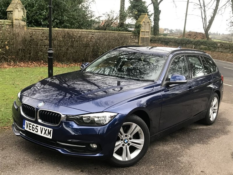 used BMW 318d SPORT TOURING in lyme-regis-dorset