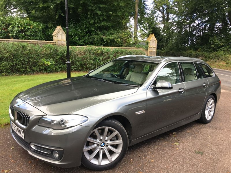 used BMW 520d LUXURY TOURING PRO NAV in lyme-regis-dorset