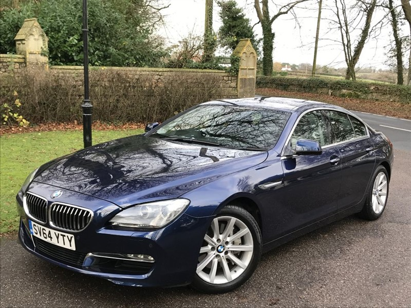 used BMW 640d SE GRAN COUPE in lyme-regis-dorset