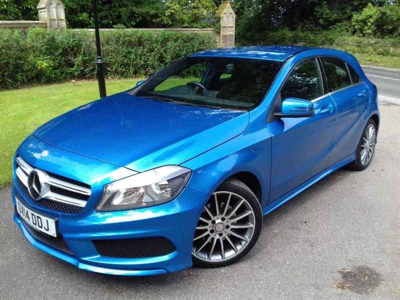 used Mercedes A180 CDI BLUEEFFICIENCY AMG SPORT SAT NAV in lyme-regis-dorset