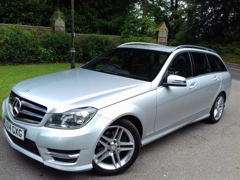 used Mercedes C220 CDI AMG SPORT EDITION PREMIUM in lyme-regis-dorset