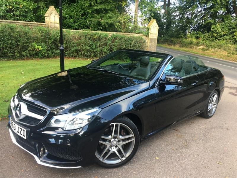 used Mercedes E220 CDI AMG SPORT in lyme-regis-dorset