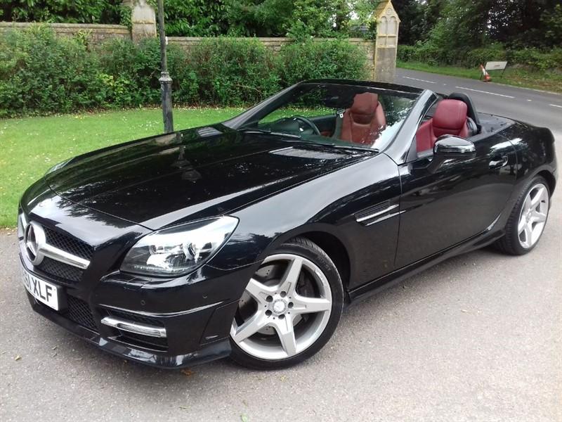 used Mercedes SLK SLK250 BLUEEFFICIENCY AMG SPORT ED125 in lyme-regis-dorset