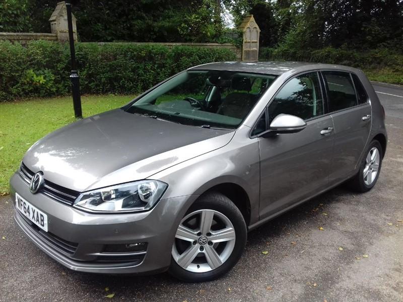 used VW Golf MATCH TDI BLUEMOTION TECHNOLOGY DSG in lyme-regis-dorset