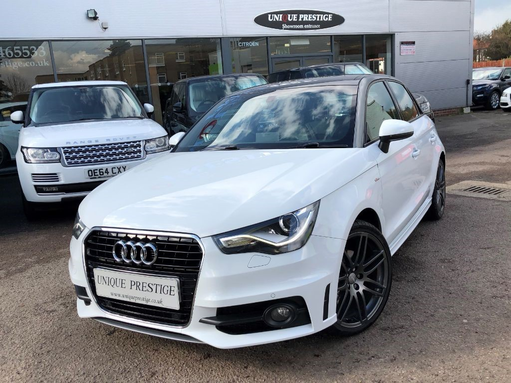 used white audi a1 for sale hertfordshire. Black Bedroom Furniture Sets. Home Design Ideas
