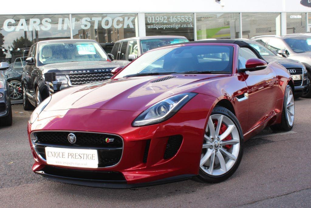 Used Red Jaguar F-Type for Sale   Hertfordshire
